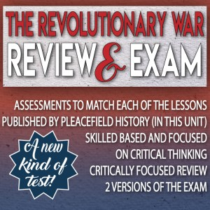 Revolutionary War Review and Assessment