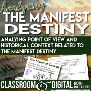 Manifest Destiny Lesson Cover