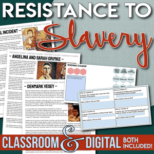 Resistance to Slavery Cover