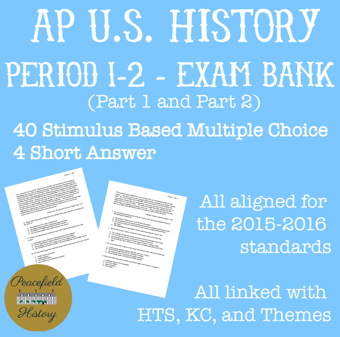 APUSH Periods APUSH Themes Period 1 AP US History - oukas info