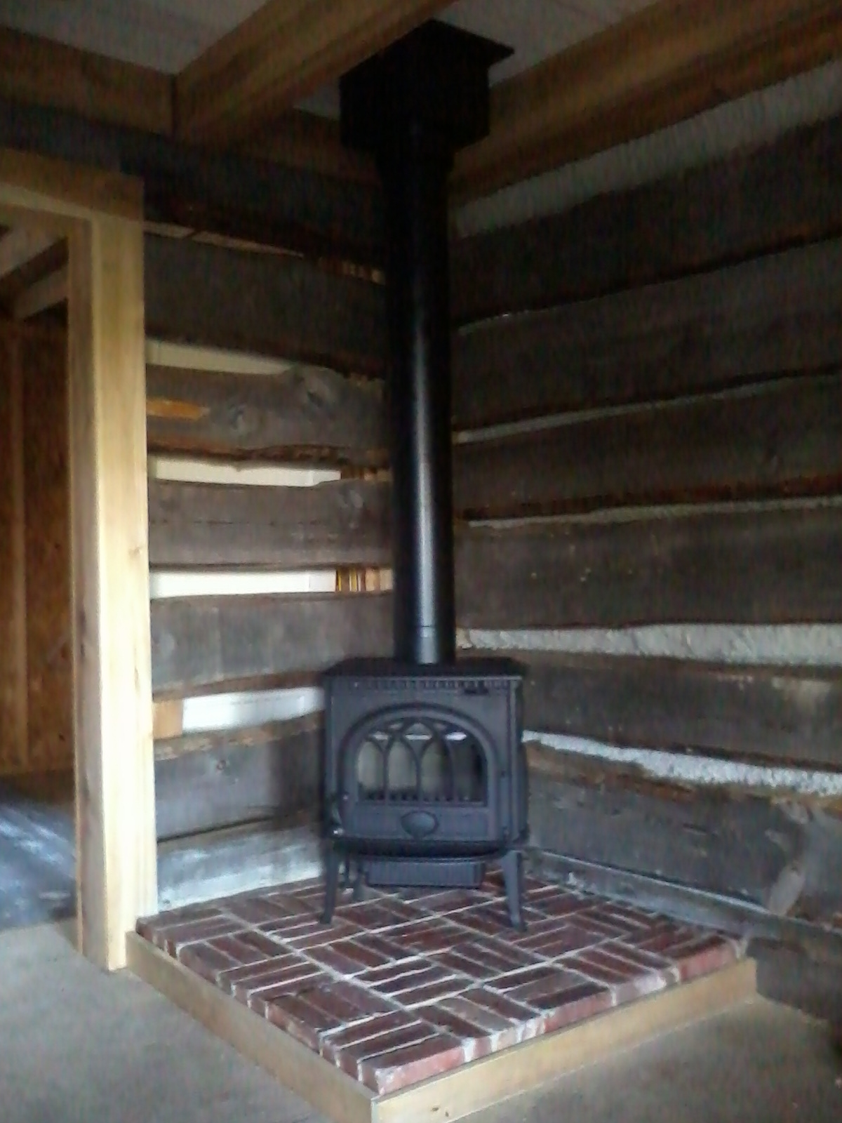 How To Build A Brick Hearth Peaceful Acres