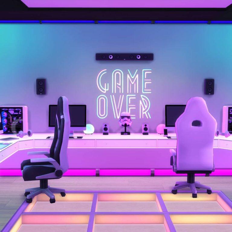 Small Gaming Room Ideas For Guys Novocom Top