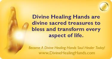 Divine Healing Hands are Sacred Treasures