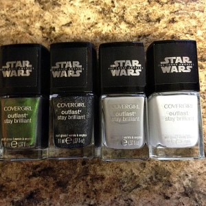 Star Wars nail polishes are not at all Star Warsy.  Except for that label.  Because I will buy anything.