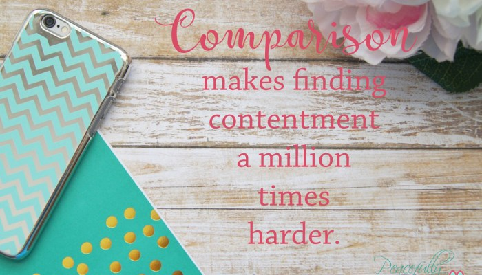 Why You Need to Stop Comparing Yourself to Others
