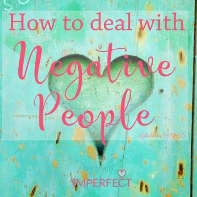 How to Break Free of Negativity