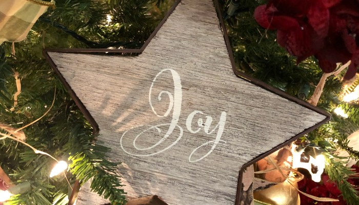 Advent ~ Choosing to Live a Joy-Filled Life