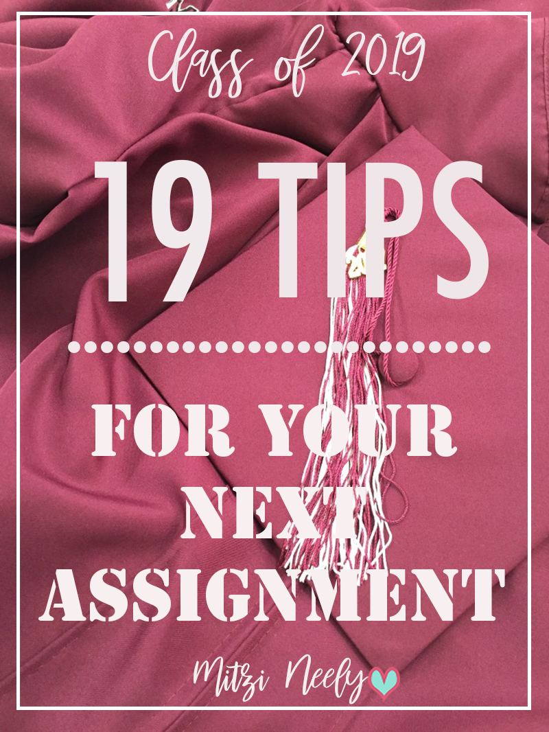 How to prepare grads for their next assignment