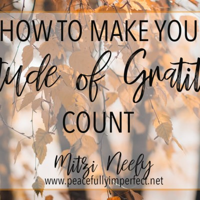 attitude of gratitude feature