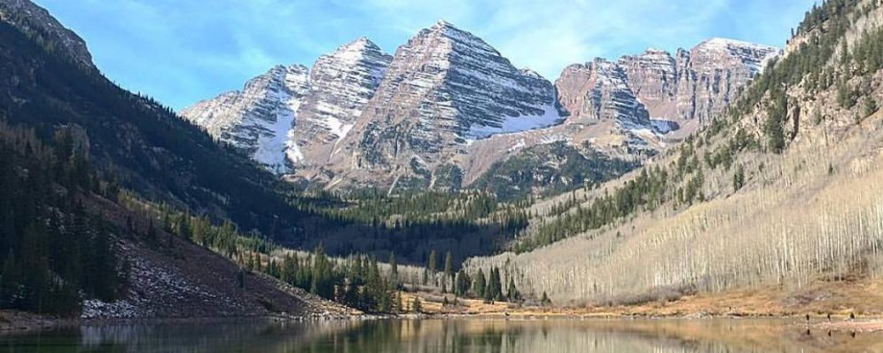 Maroon Bells in Aspen, CO