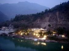 Ashram on the Ganges