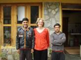 Elisa and Mountain Retreat Caretakers