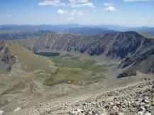 Ridge of Grays and Torreys Peaks
