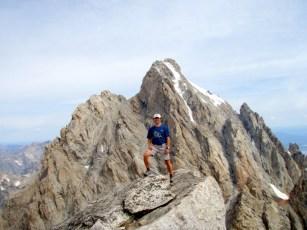 Summit Middle Teton w/Grand Teton Beyond