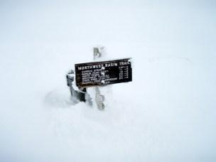 Signage on Ridge