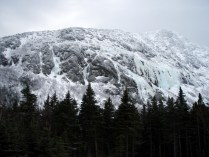 View from Chimney Pond Basin