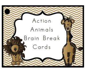 Action Animals Brain Breaks