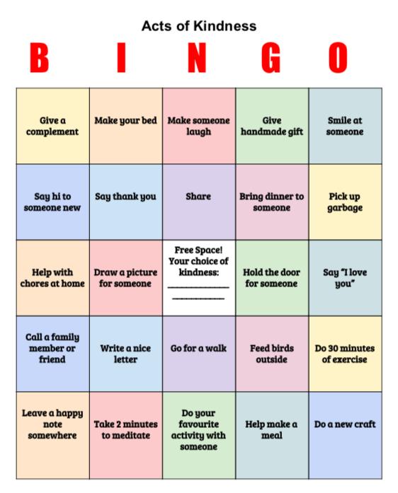 June 2020 Bingo