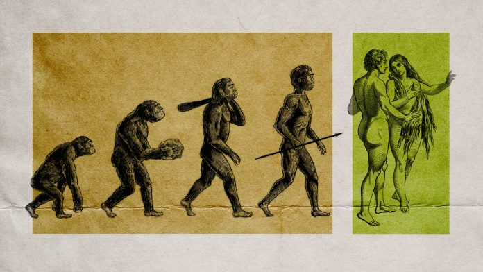 Is evolutionary science in conflict with Adam and Eve?