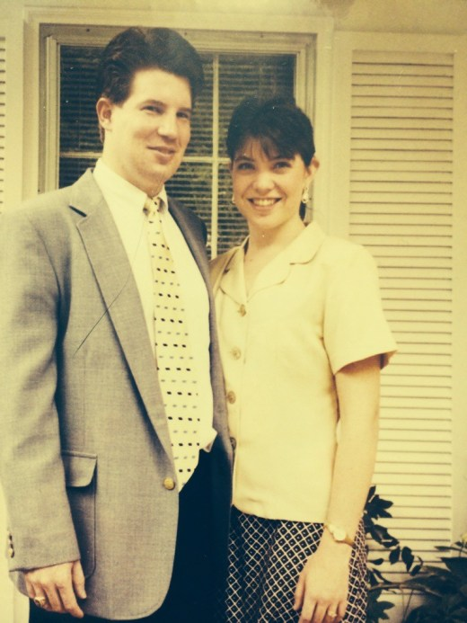 Greg and April, Easter 1998