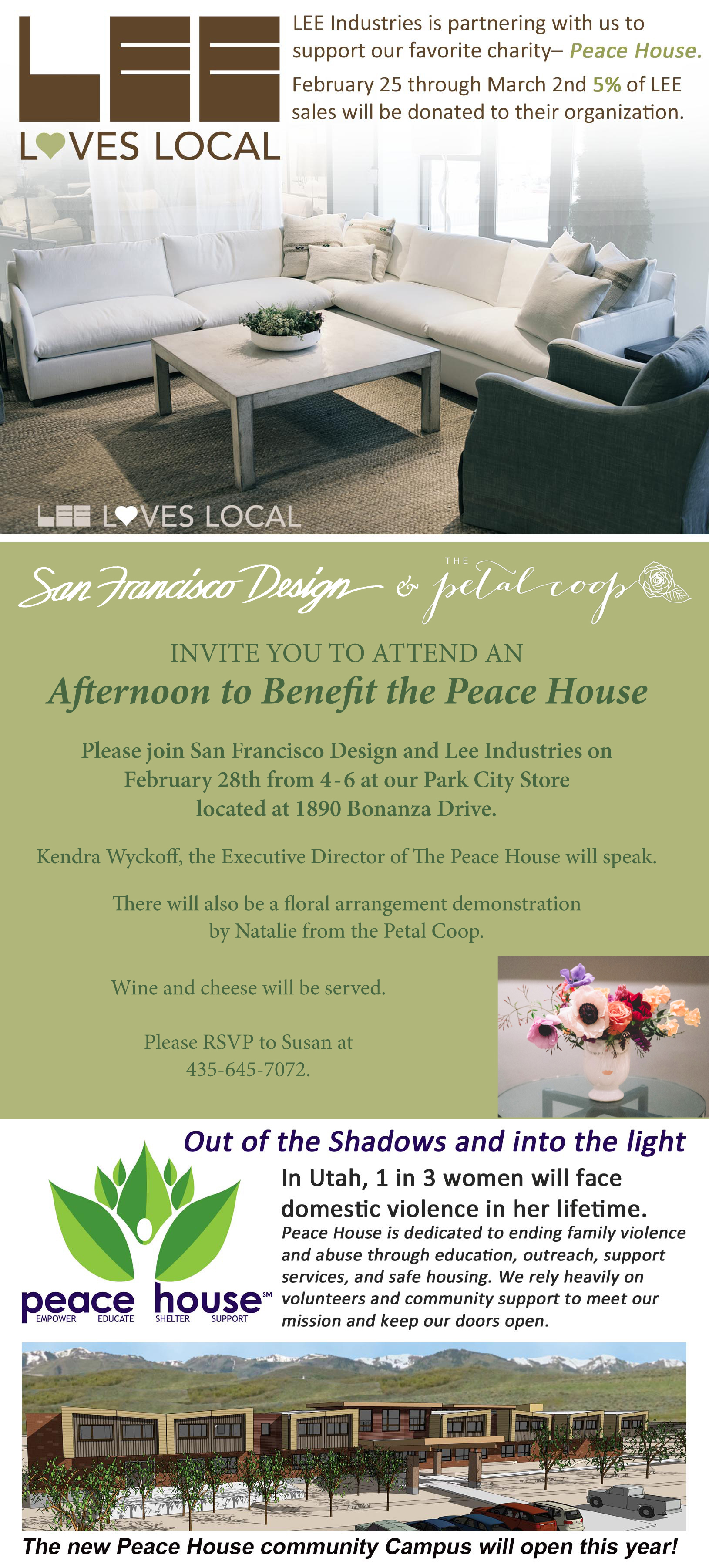 San Francisco Design Event Benefits Peace House