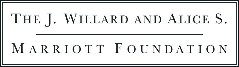 J. Willard and Alice S. Marriott Foundation Anniversary Sponsor