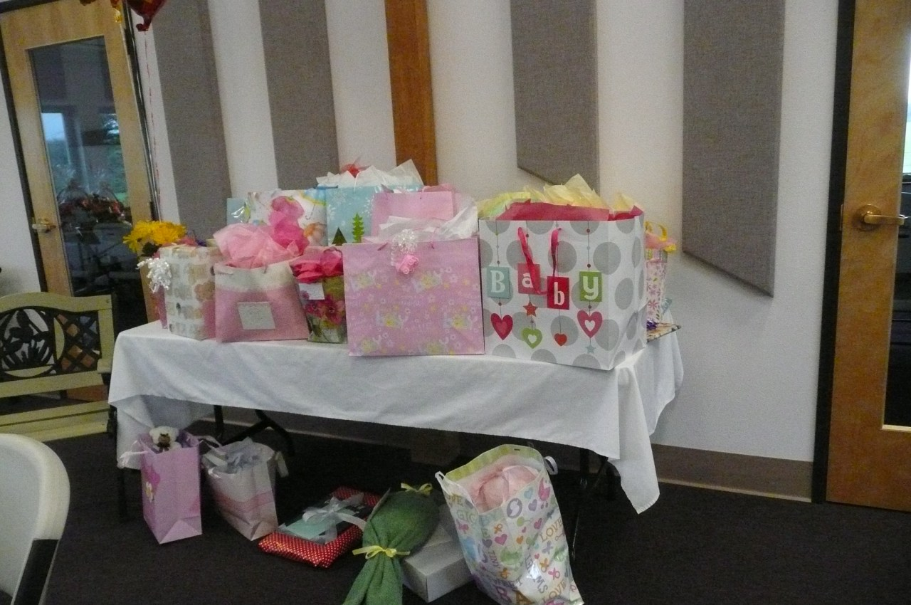 Baby Shower for Claire Noel Lucke