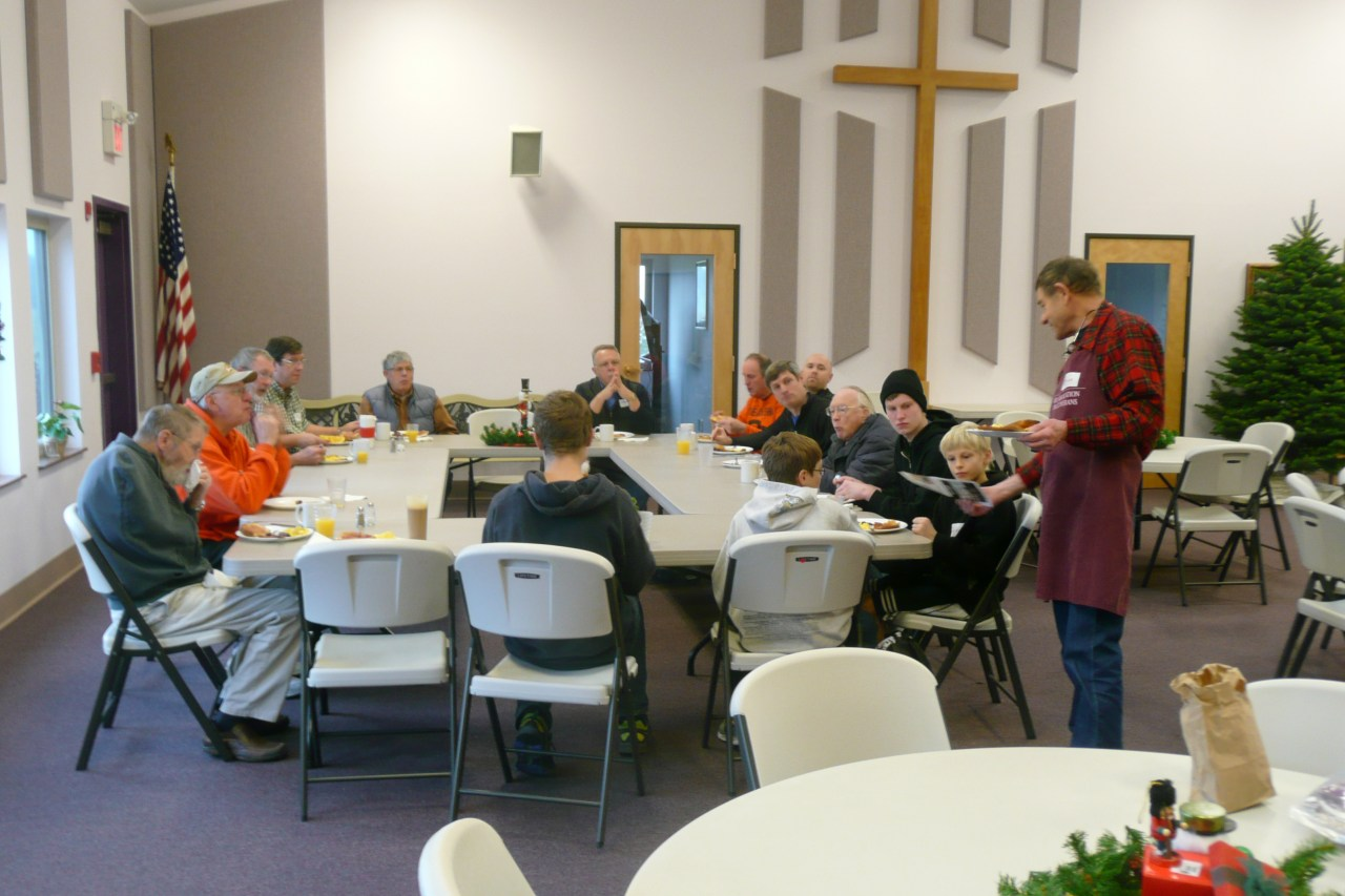 Men's Breakfast 12/14/2013
