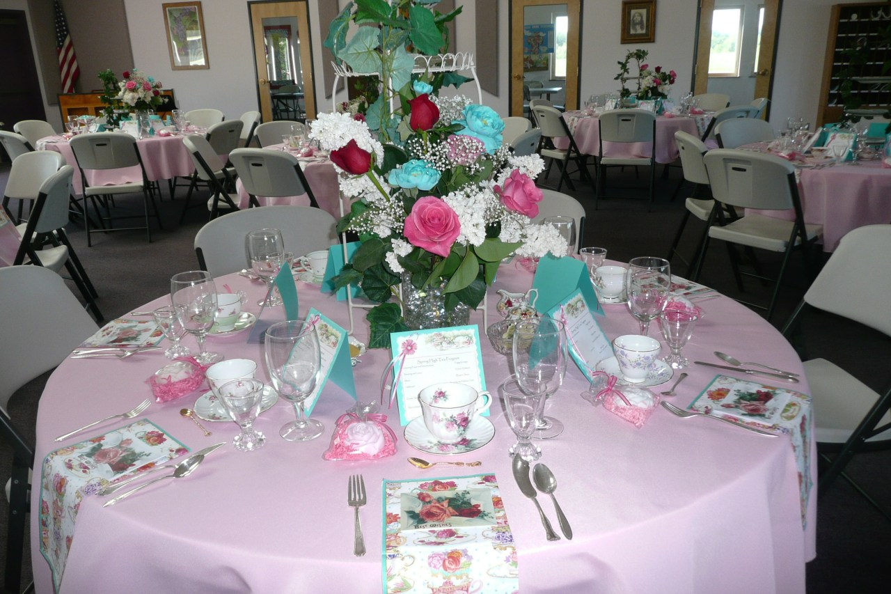 2015 Ladies Spring Tea