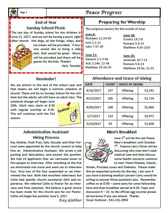 Newsletter June 2017 b