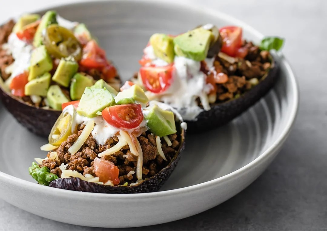 Avocado Taco Boats Peace Love And Low Carb