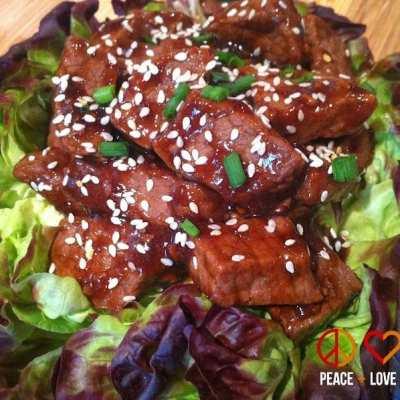 Low Carb Teriyaki Beef Tips