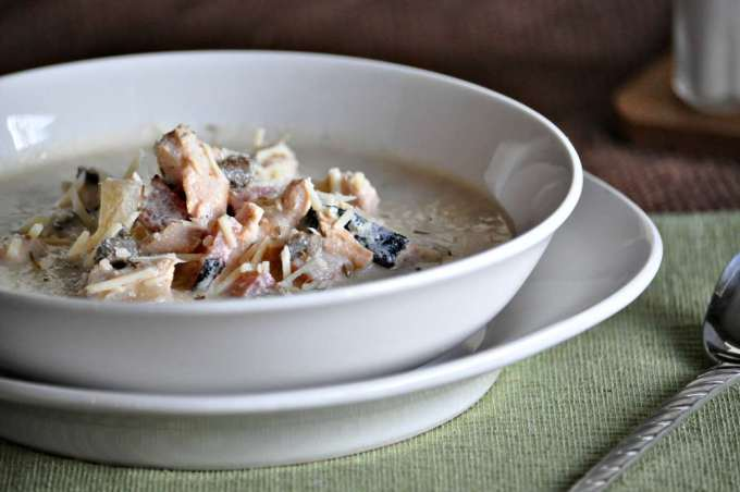 Keto Chicken Cordon Bleu Soup   Peace Love and Low Carb