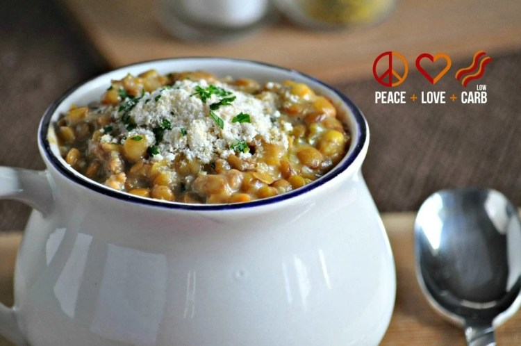 Lentil and Italian Sausage Soup