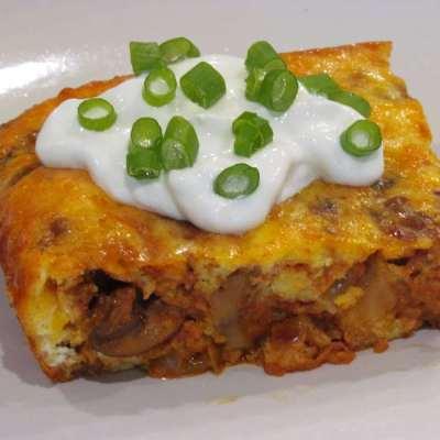 Cheesy Chorizo Breakfast Bake