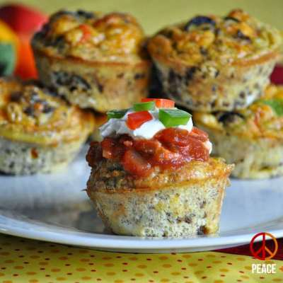 Taco Egg Muffins – Low Carb, Gluten Free
