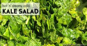 Hot and Steamy Cold Kale Salad
