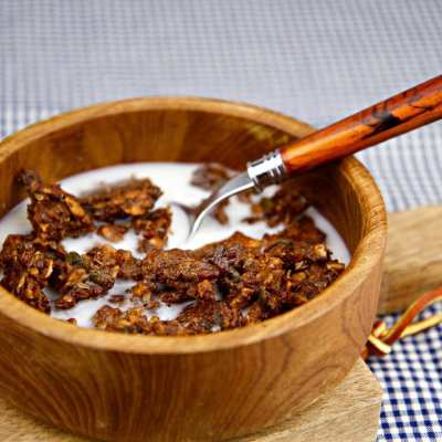 Baked Spiced Granola – Low Carb, Gluten Free