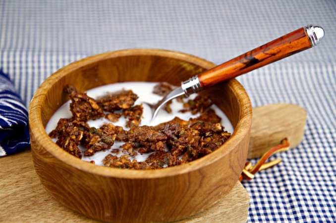 Baked Spiced Granola
