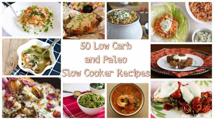 50 Low Carb and Paleo Slow Cooker Recipes - Round-up