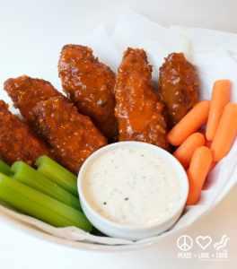Buffalo Chicken Tenders - Low Carb, Gluten Free