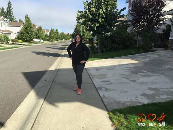 Day 30 Walk - My 100 Pound Journey   Peace Love and Low Carb