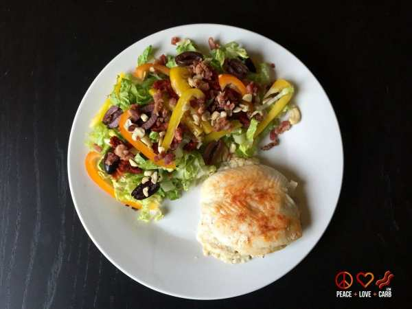 Dinner Day 22 - My 100 Pound Journey | Peace Love and Low Carb