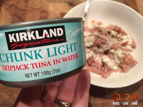 Costco SkipJack Tuna - Peace Love and Low Carb