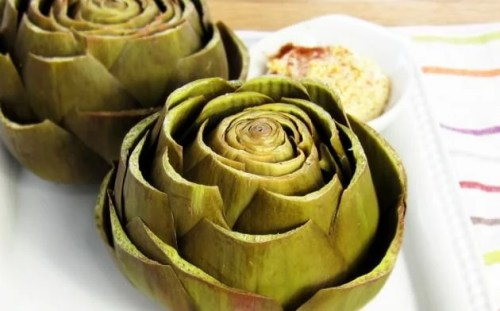 Pressure Cooker Steamed Artichokes - Low Carb Pressure Cooker Round Up | Peace Love and Low Carb