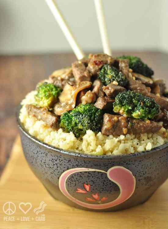 Beef and Broccoli Stir Fry - Low Carb, Gluten Free | Peace Love and Low Carb