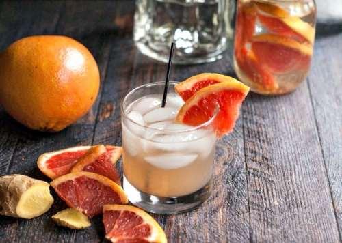 Grapefruit Ginger Fizz | My Life Cookbook