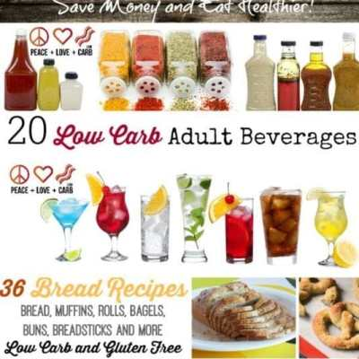 The Great Low Carb Carb Round Up of Round Ups | Peace Love and Low Carb
