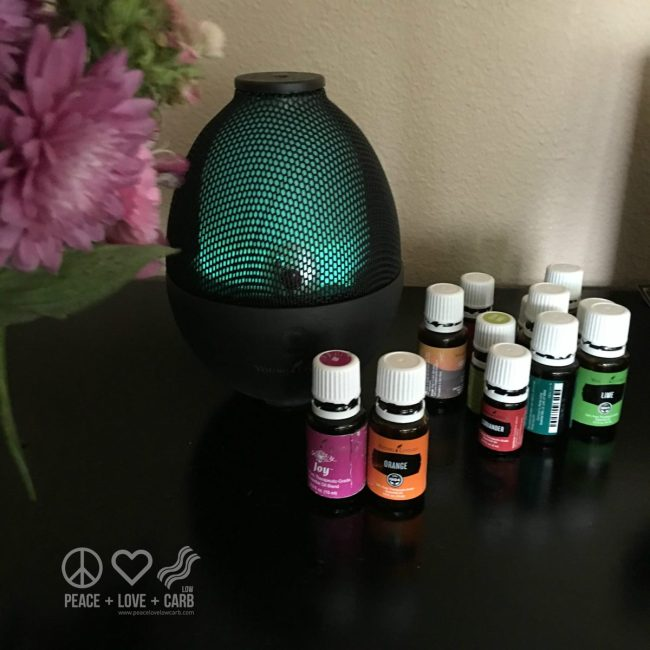 Diffusing Joy and Orange   Peace Love and Low Carb