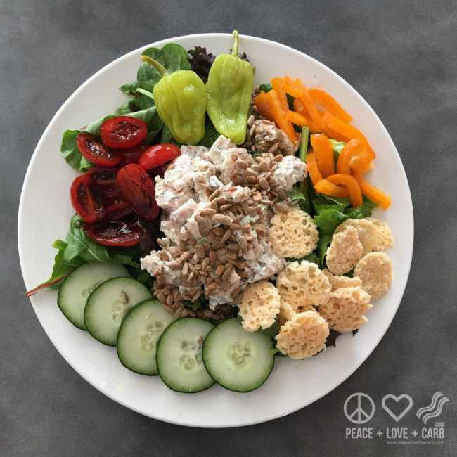Salad a Day Challenge | Peace Love and Low Carb